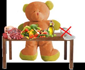 papilla de verduras