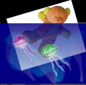 medusas natacion